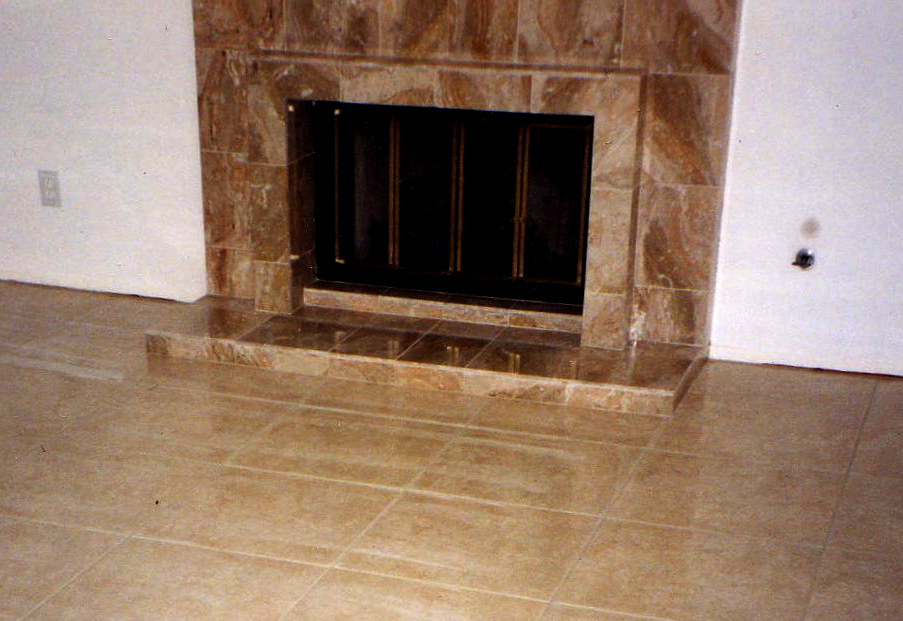Fireplaces Bohemian Tile And Marble