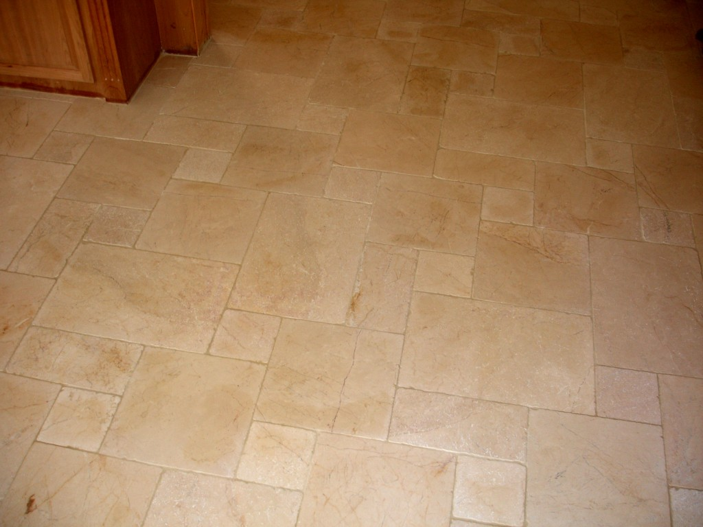 Tiled Hallway Custom Tile Floor Design