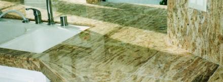 Custom marble kitchen