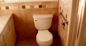 Affordable bathroom remodel