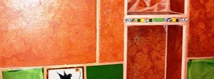 Unique Mexican design w/porcelin tiles