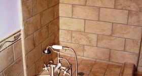 Custom shower and clawtub