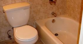 Simple bathroom remodel