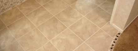 Porcelain Tile Bathroom Floor