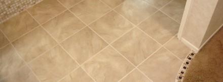 Porcelain Tile Bathroom Floor