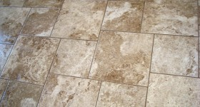 Pinwheel Tile Floor Pattern